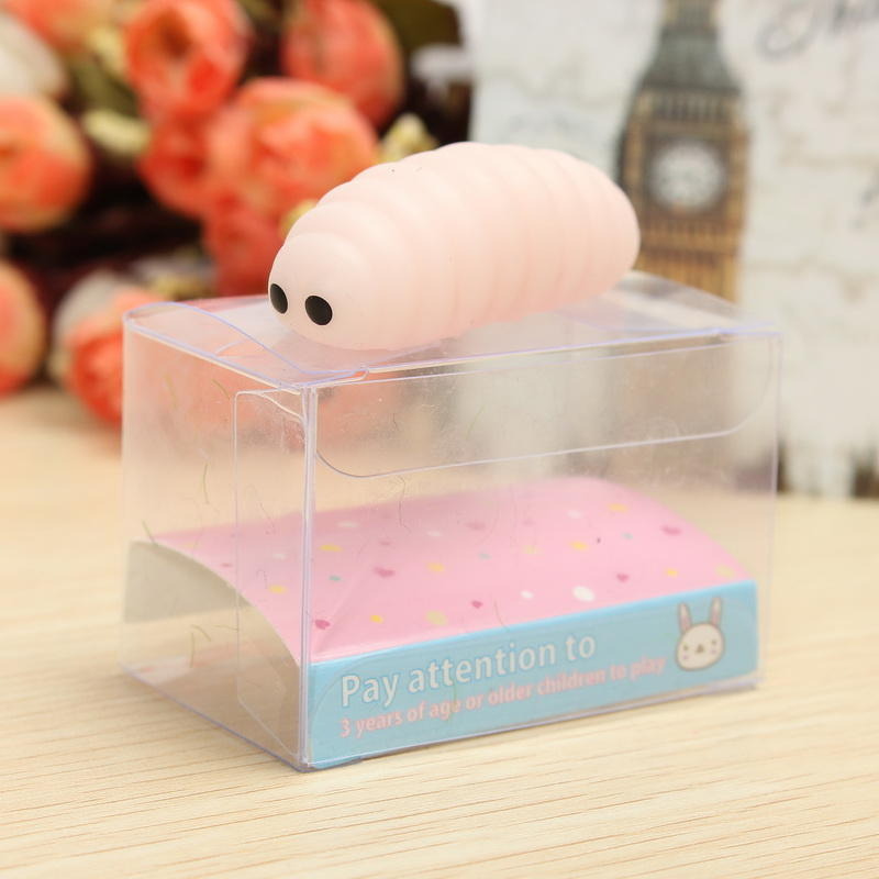Caterpillar Squishy Squeeze Cute Healing Spielzeug Kawaii Collection Stress Reliever Geschenk Dekor - 8