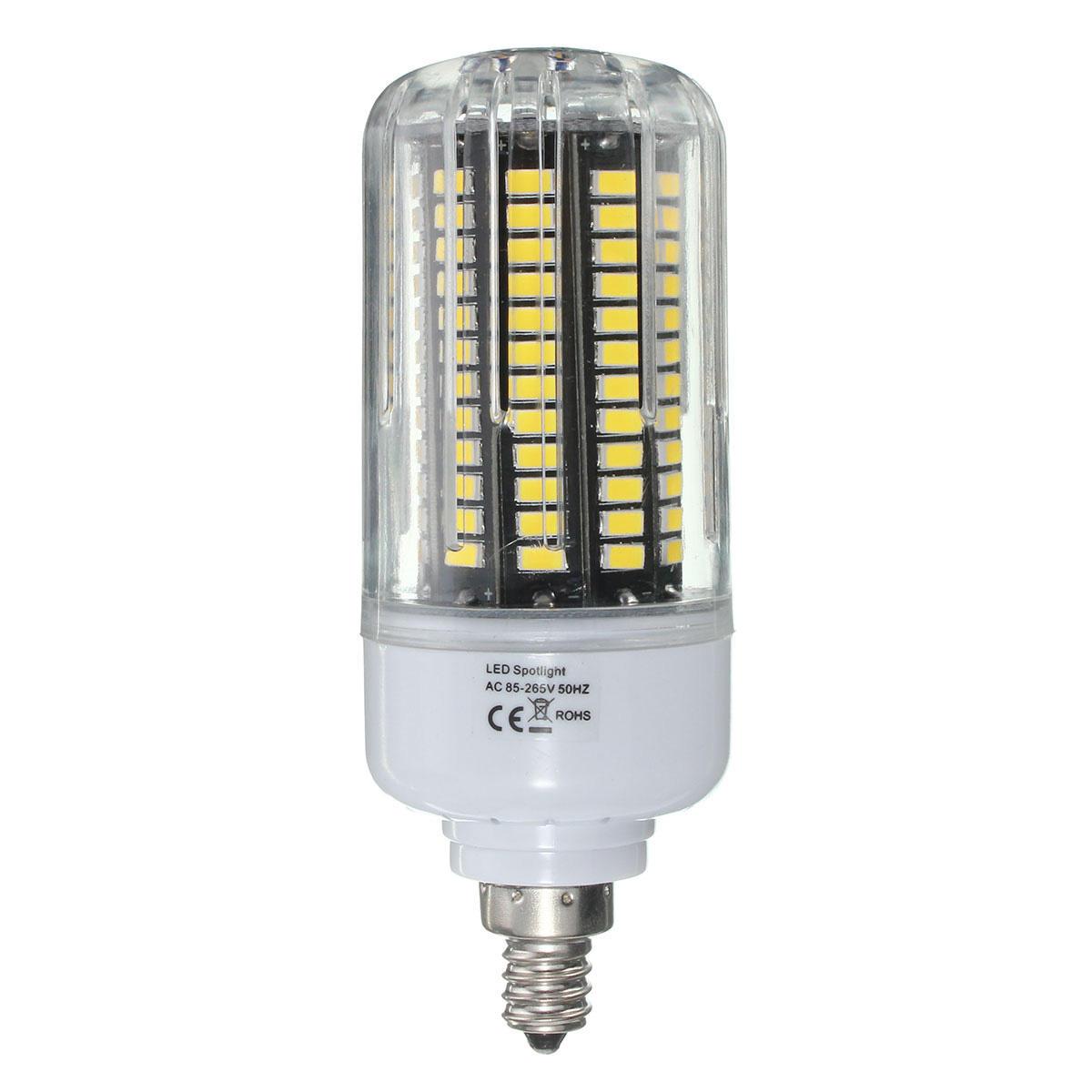 E27 E17 E14 E12 B22 18W 100 SMD 5736 LED Pure White Warm White Natural White Corn Bulb AC85 265V - 9