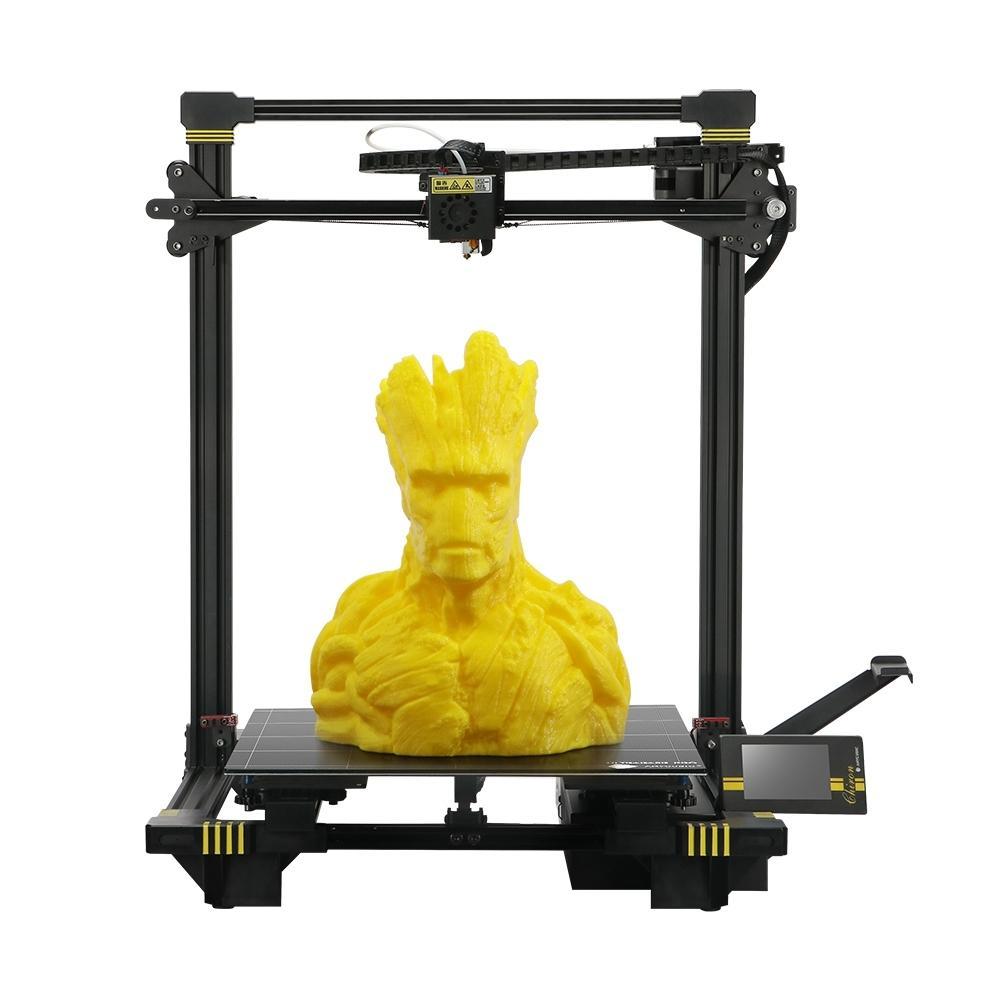 Anycubic® Chiron 3D Printer Format d'impression 400 * 400 * 450 mm avec nivellement automatique par matrice / Ultrabase Pro Capteur de puissance / capteur de filament / Axe Z double / TFT