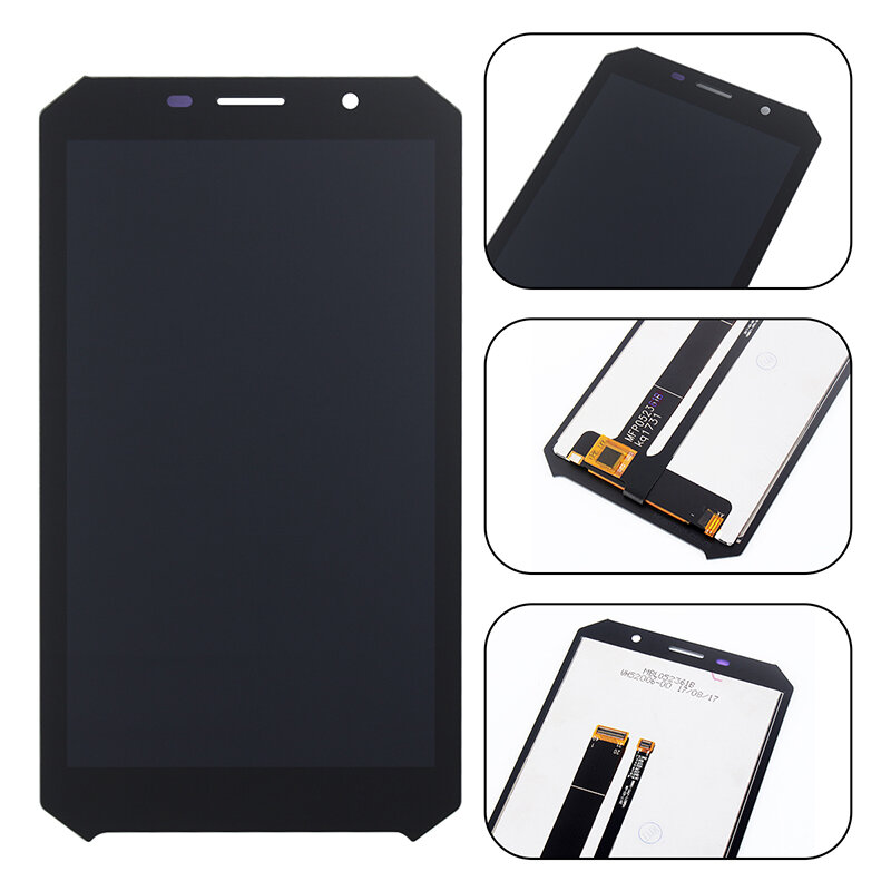 Original Doogee LCD Display+Touch Screen Digitizer Replacement With Tools For DOOGEE S60 /DOOGEE S60 Lite фото