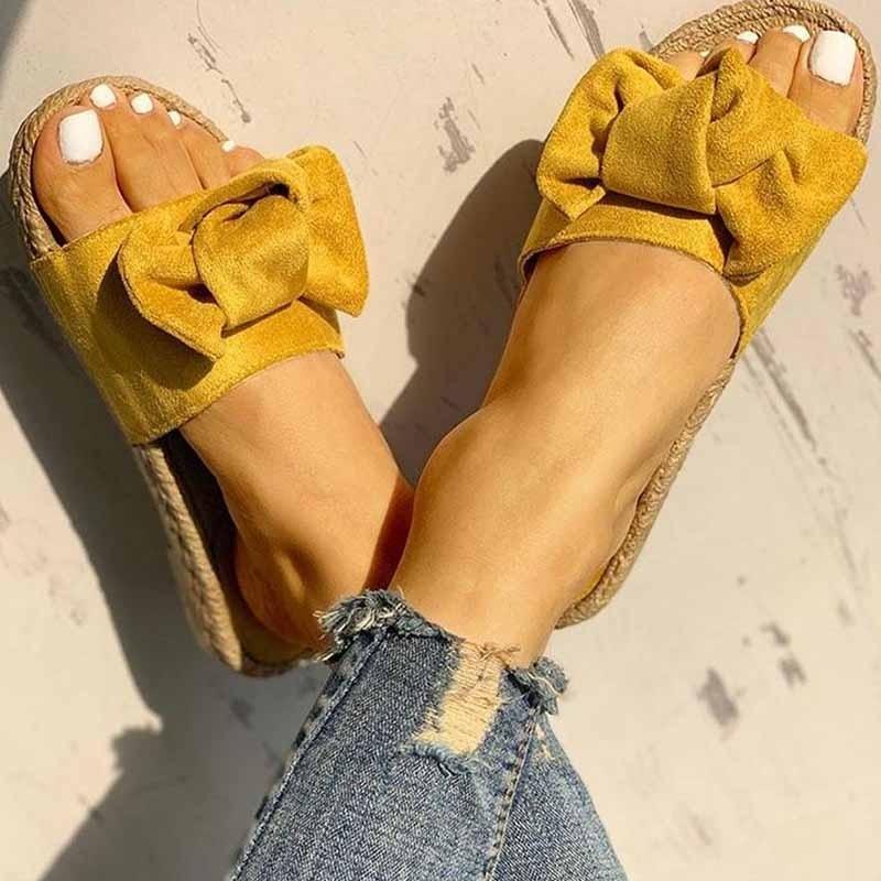 ЖенскаяПляжныйСандалииТапкиНескользящаяповседневная обувь Цветы Шаблон - 6