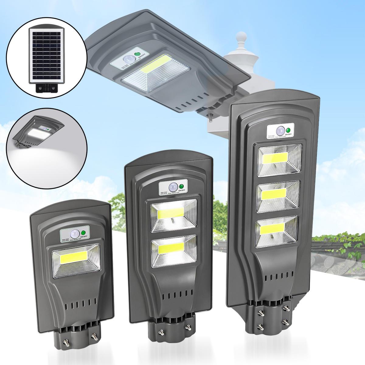 20ワット40ワット60ワットソーラーパワーPIRモーションセンサー街路灯屋外ガーデンヤードライト