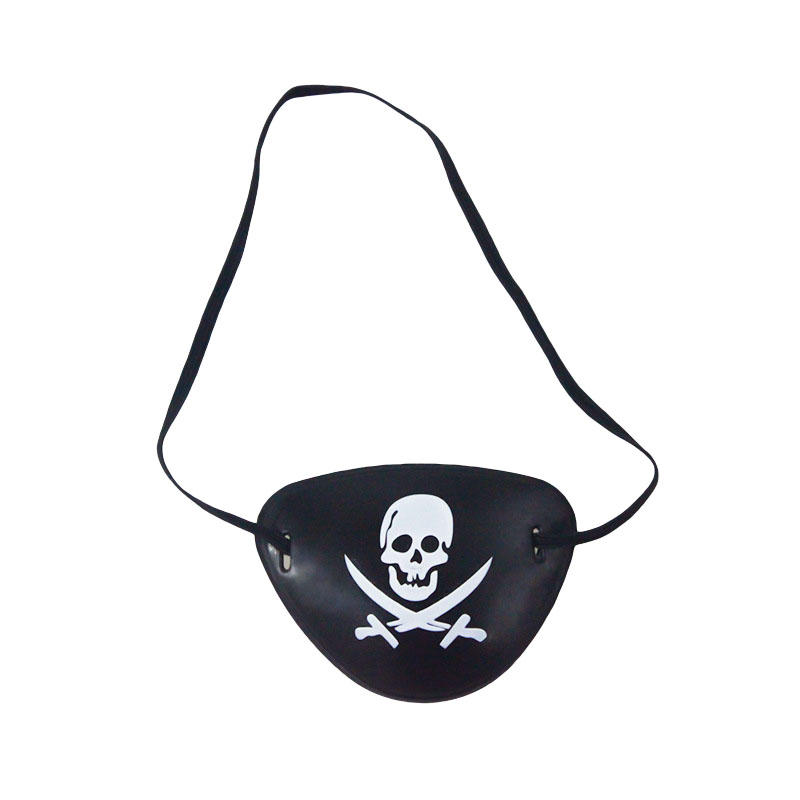 Halloween Pirate Eye Patch Disfraces Piratas del Caribe A Masquerade Accesorios Cyclops Goggle