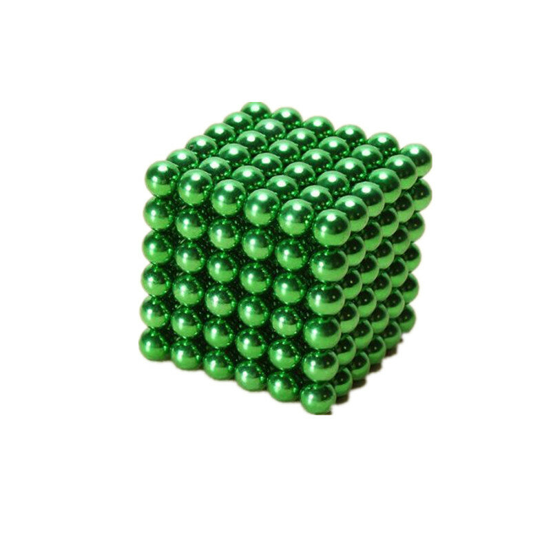 1000PCS Per Lot 5mm Magnetic Buck Ball Magnet Silver Intelligent Stress Reliever Toys Gift - 4