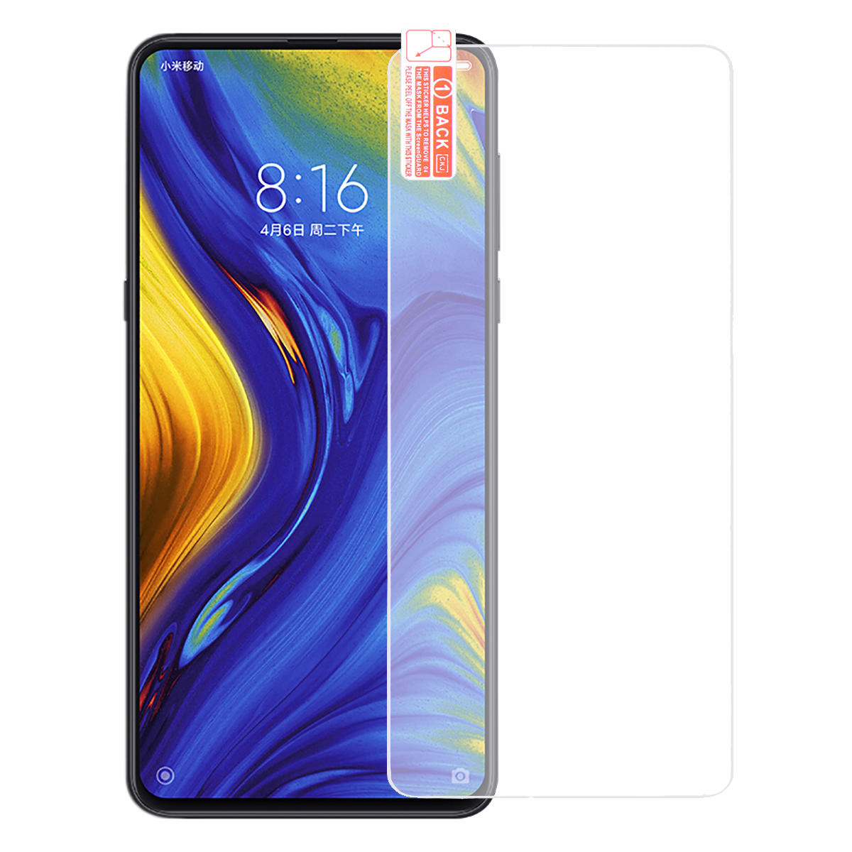 Bakeey™ Anti-explosion Anti-scratch Tempered Glass Screen Protector for Xiaomi Mi MIX 3
