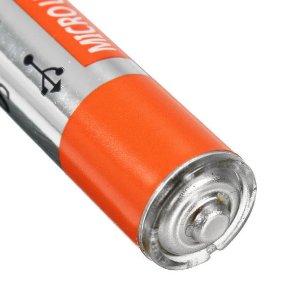 2PCS SORBO 1.5V 400mAh Rechargeable AAA Battery with 4 In 1 Charger Cable - 8