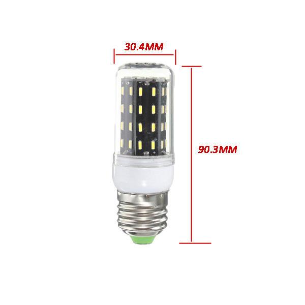 E27/E14/E12/B22/G9/GU10 LED Bulb 4W SMD 4014 56 400LM Pure White/Warm White Corn Light Lamp AC 220V - 10