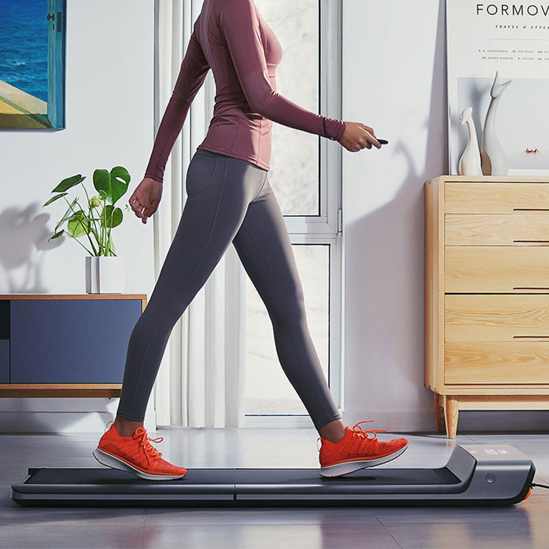 Xiaomi Mijia Smart Folding Walking Pad Non-slip Sports Treadmill Walking Machine Manual Automatic Modes Outdoor Indoor Gym Electricl Fitness Equipment