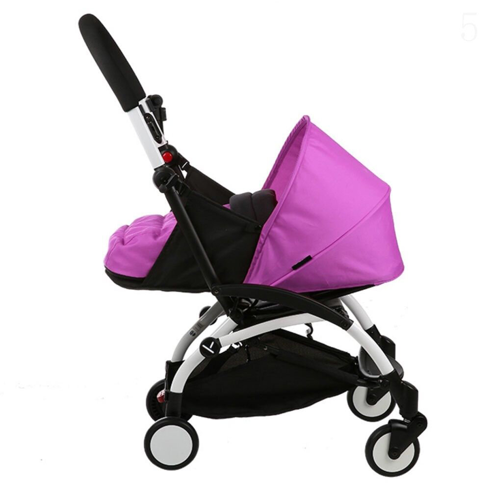 Folding Baby Stroller Sleeping Basket Infant Carriage Pushchair Sleep Pad Travel Car Stroller - 4