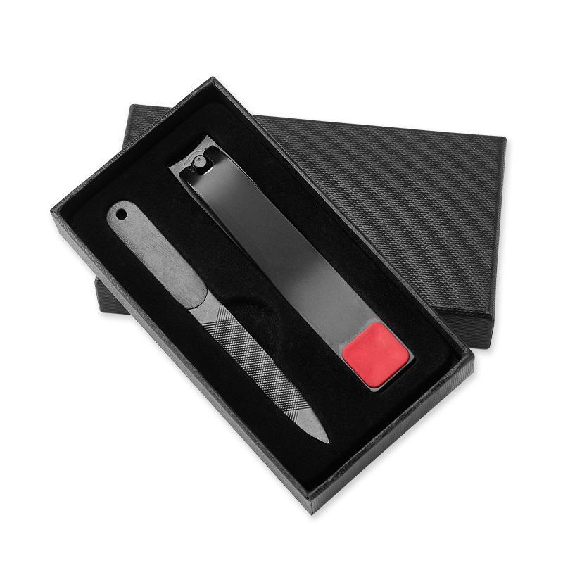 ネイルファイル付きYFM®ステンレス鋼ネイルクリッパー爪爪カッター爪マニキュアツール