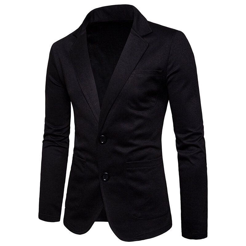 Mens Slim Fit Solid Color Single-breasted Buttons Waistcoat Fashion Business Casual Vest - 11