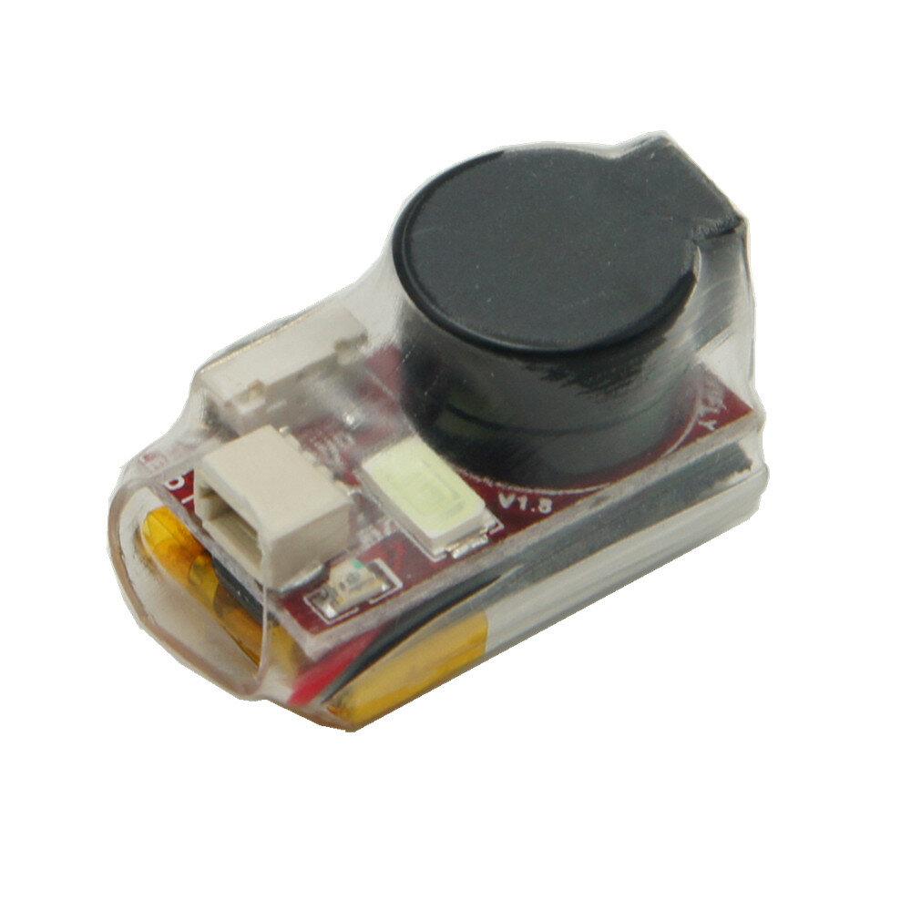 Yeni Vifly Bulucu 2 5V Süper Loud Buzzer Tracker Üzerinde 100dB w / Batarya & LED RC Drone için Öz-güç