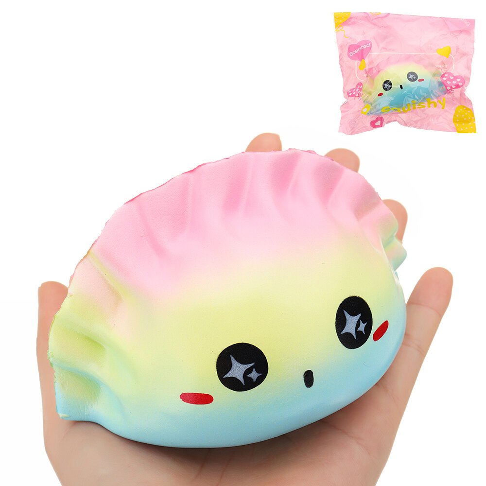 Galaxy Dumplings Squishy 12*7*7CM Slow Rising With Packaging Collection Gift Soft Toy