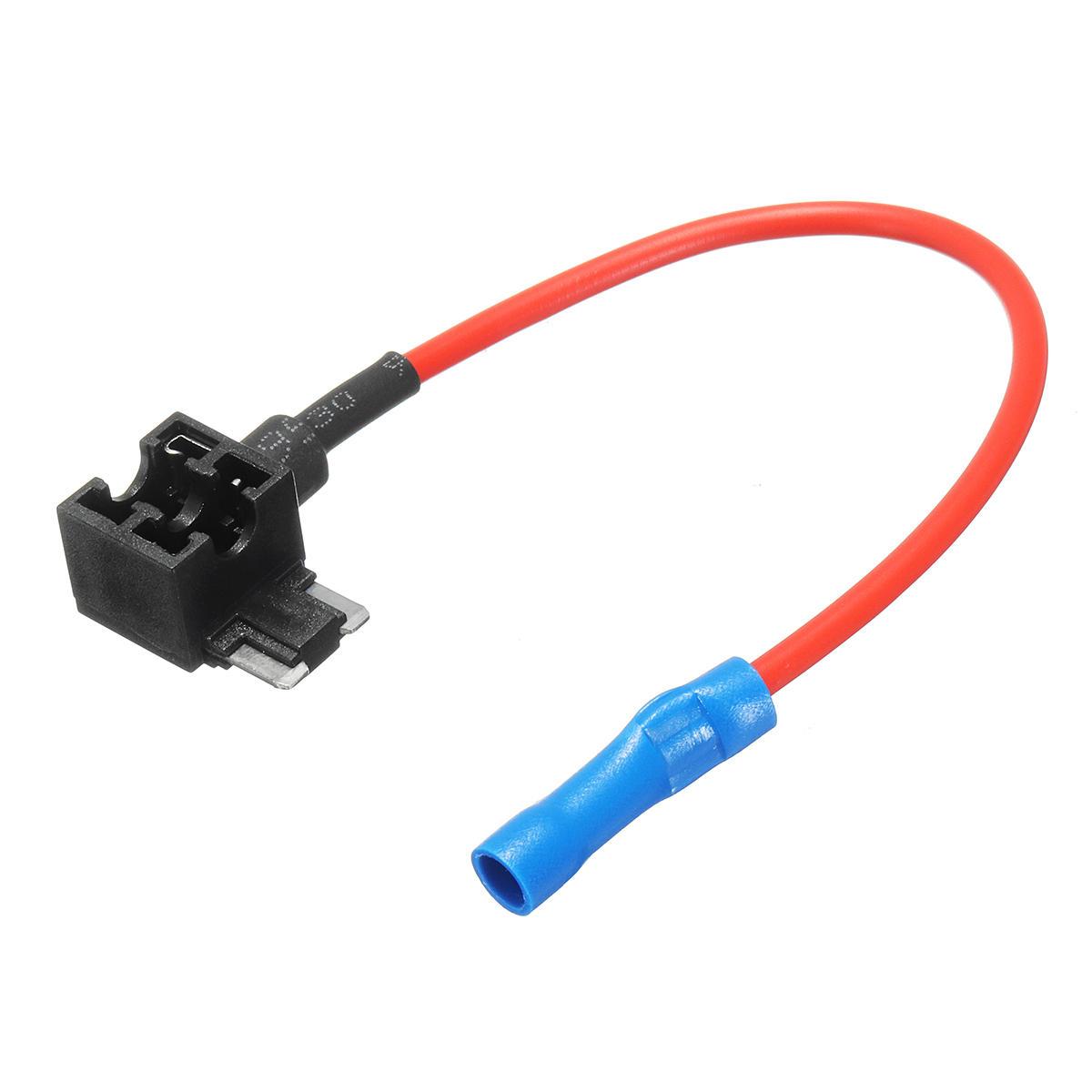 10A Add-A-Circuit Mini Blade Fuse Holder ACS ATO ATC For Car Truck US 5 pcs
