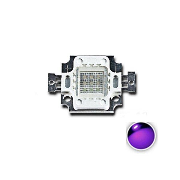 LUSTREON 10W UV Viola LED Chip di Ultravioletto DIY Lampada ad Alta Potenza del Tallone di COB