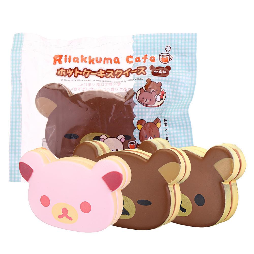 Squishy Easily Bear Hand Pillow 10CM Wrist Pad Toys Kawaii Expressions Christmas Gift