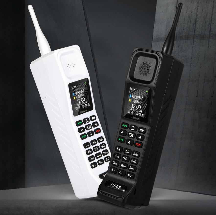 [180Days Long Standby] MAFAM H999 Retro BT Dialer 6000mAh 1.77 inch FM Radio Power Bank Torch Vibration Reminder Loud Sp