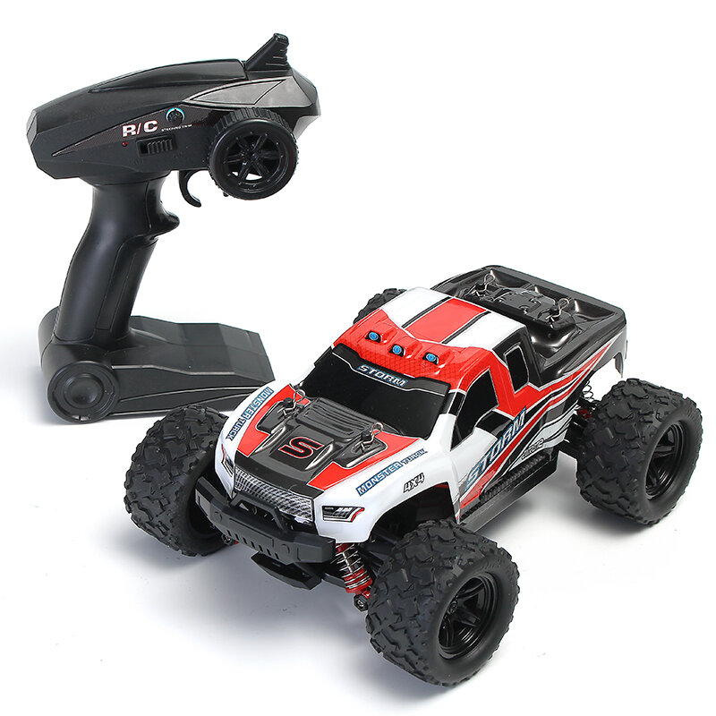 WLtoys 12427 2.4G 1/12 4WD Crawler RC Car With LED Light - 7