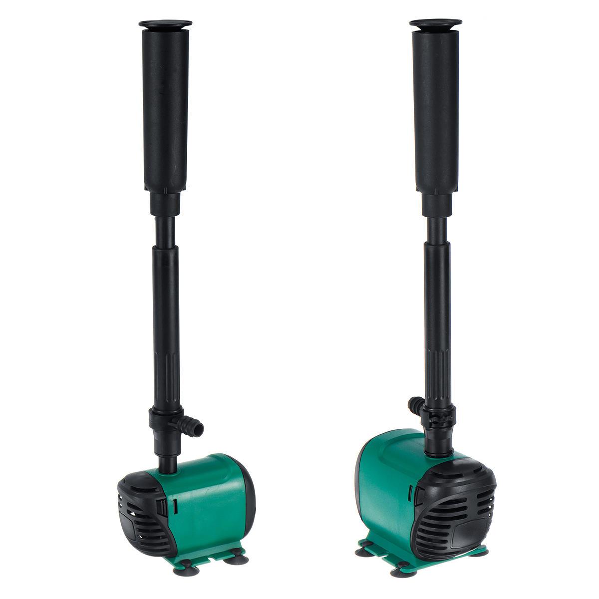 Pompa di acqua sommergibile da 8W / 14W Pompa da giardino per acquario Fontana di filtri per acquari Set 220V