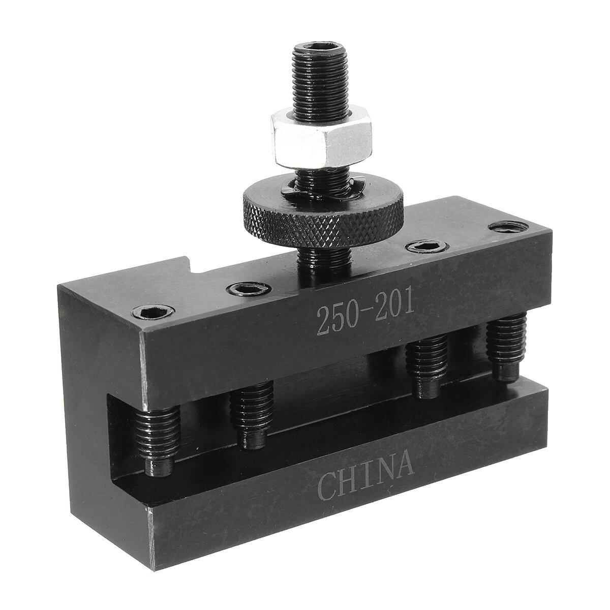 Quick Change Lathe Tool Bit Bits Post Holder For Turning /& Facing CNC Machine