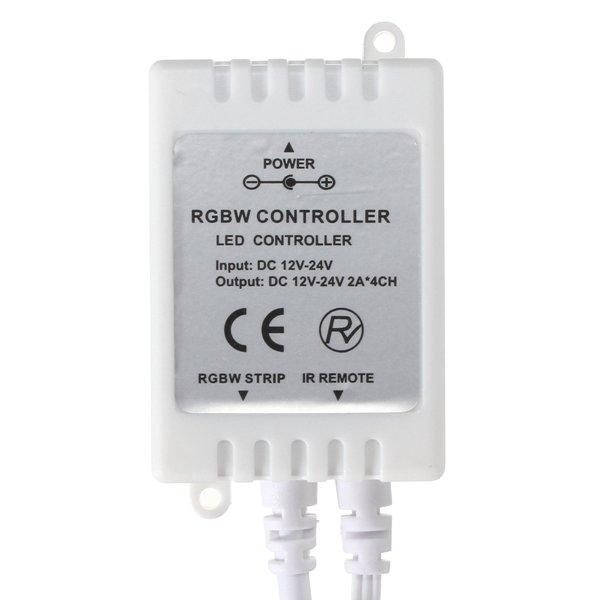 40 Keys RGBW Controller IR Remote DC12-24V For LED Strip RGB White Light