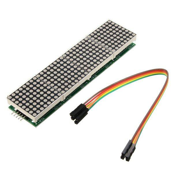 Geekcreit® MAX7219 Mô-đun ma trận điểm 4 trong 1 cho Arduino