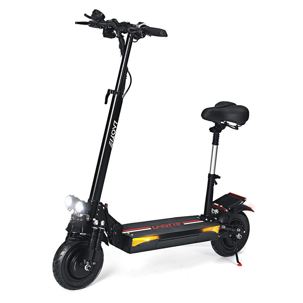 LAOTIE® L6 Pro 48V 24Ah 21700 Battery 2x800W Dual Motor 50km/h Max Speed Electric Scooter 10 Inch 100km Mileage Triple Brake System Max Load 200kg EU Plug