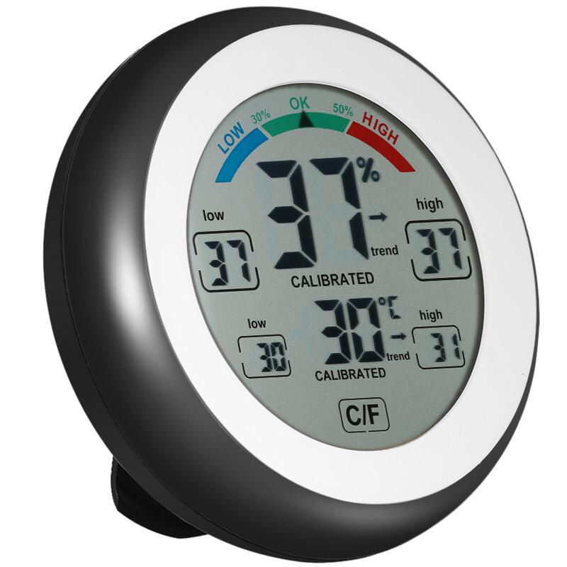 Multifunctional Digital Thermometer Hygrometer Temperature Humidity Meter ℃//℉