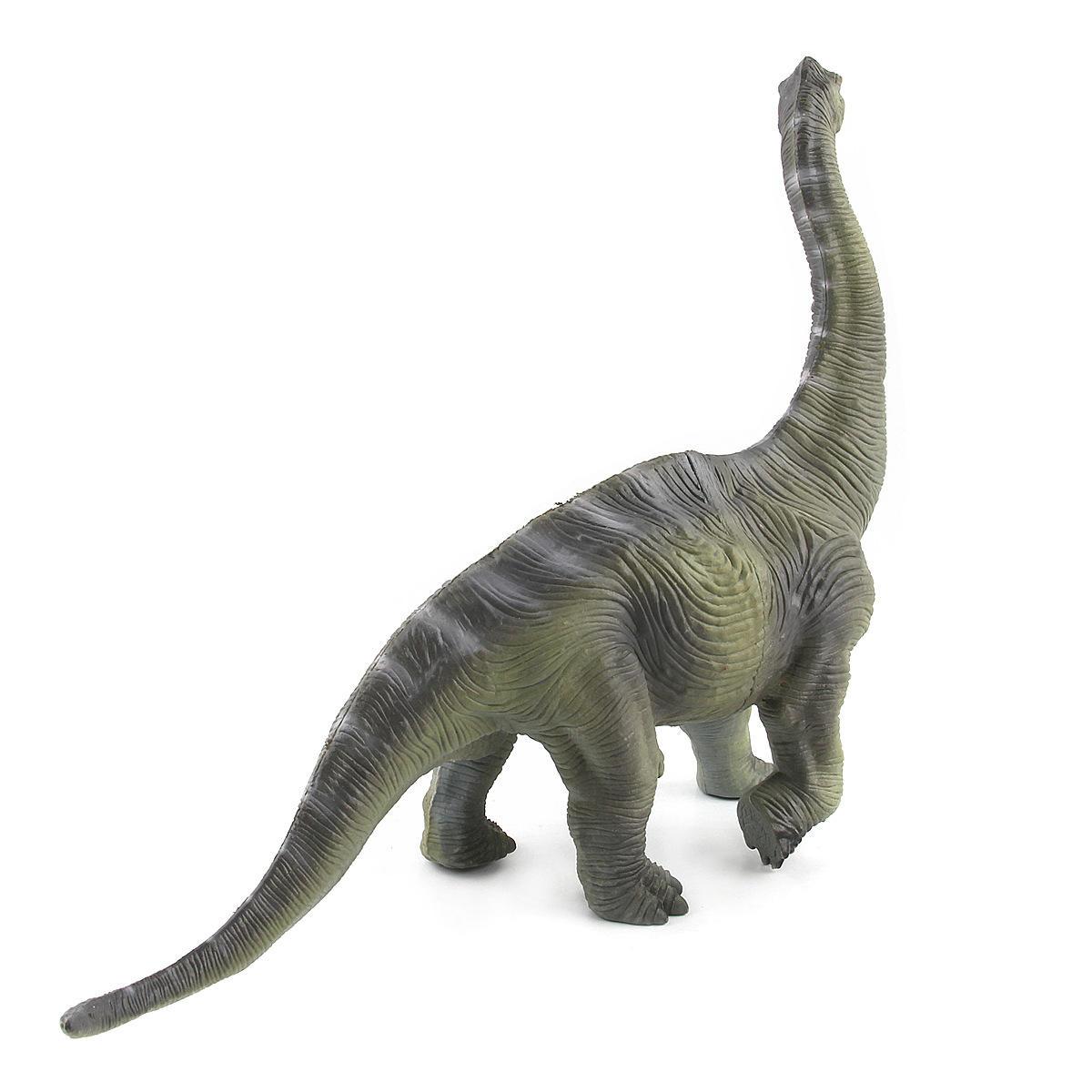 Большая игрушка динозавров Brachiosaurus Реалистичная твердая пластиковая модель Diecast для детей - 7