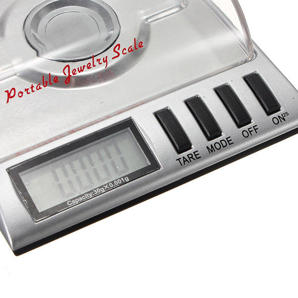 5000g/1g Electronic Weighing Scale Kitchen Jewelry Food Diet Scale - 4