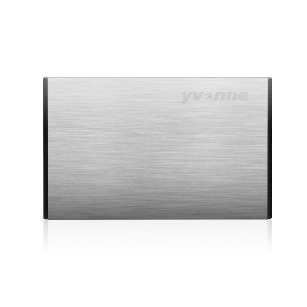 Yvonne HD218 2.5 Pollici SSD HDD Enclosure Unità disco rigido Drive disco rigido con SATA to USB 3.0 per Windows Mac OS