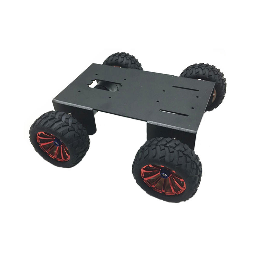 DIY A-18 4WD Smart Robot Car Chassis Kit For Arduino Raspberry Pi