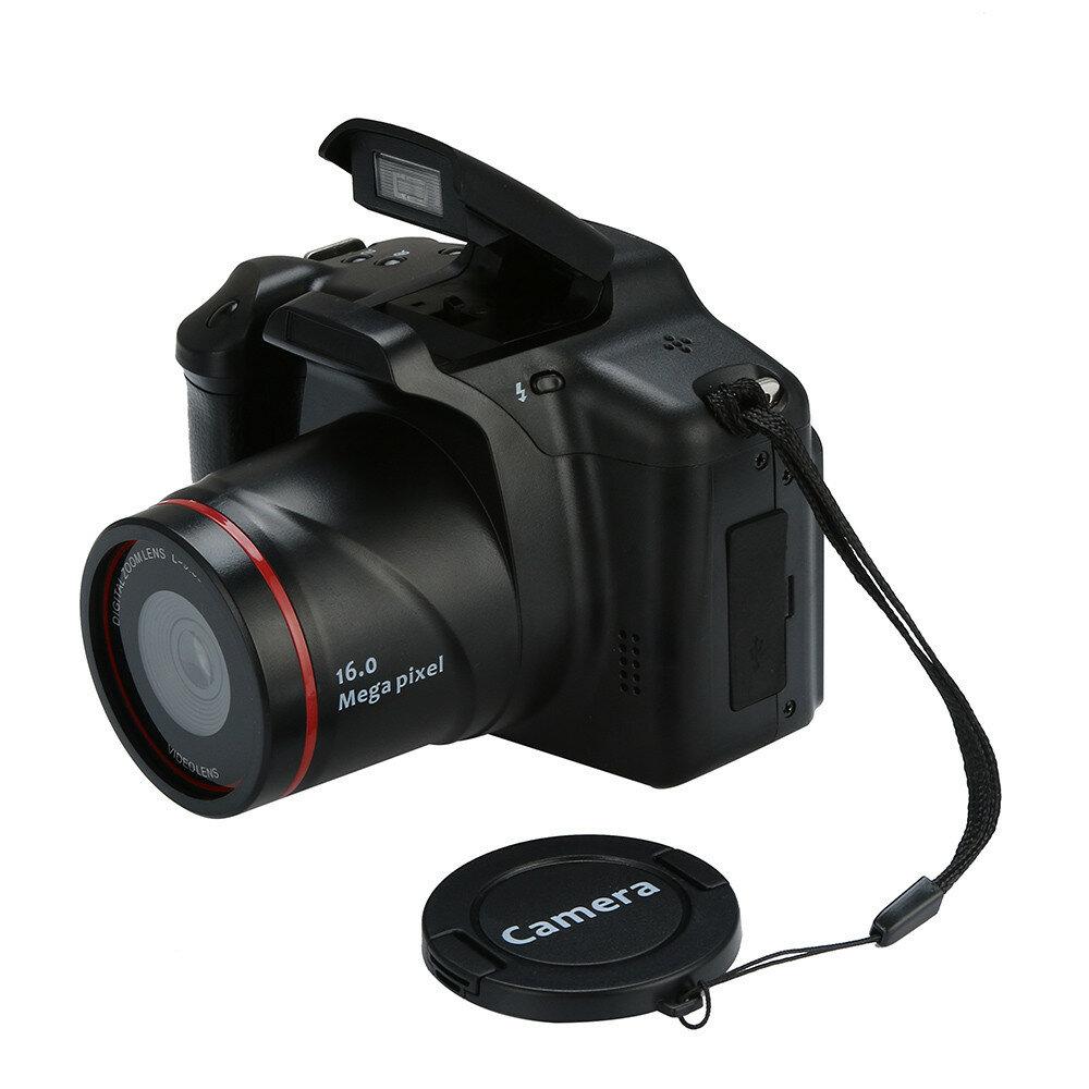 16MP 1080P 16X Zoom 2,4 pouces TFT Écran Appareil photo numérique avec effet anti-vibration avec microphone intégré