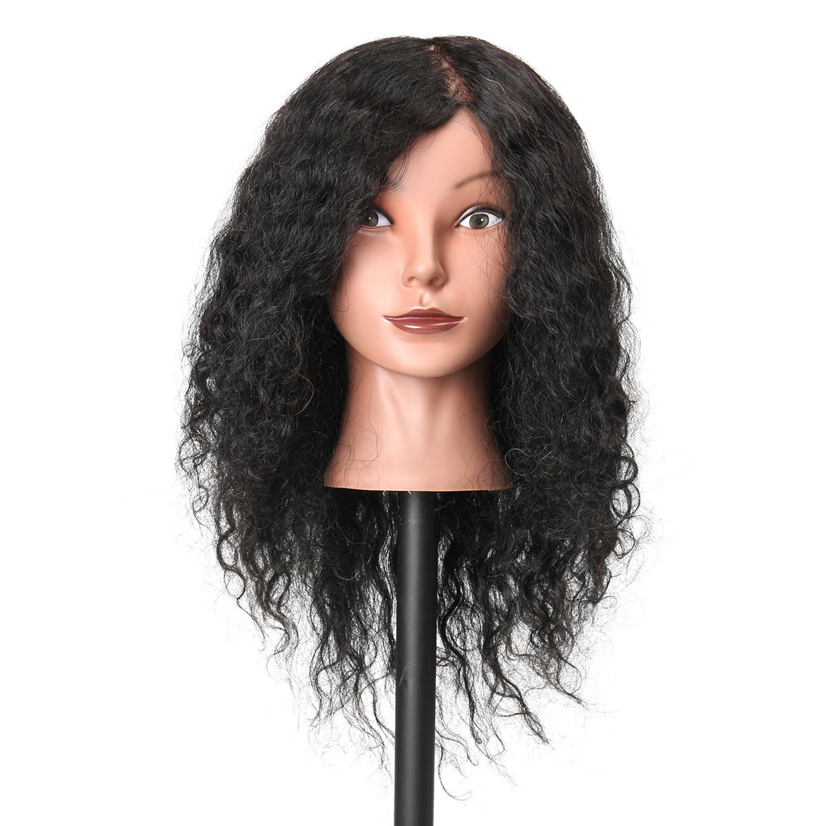 Female Plastic Mannequin Head Wig Hair Display Model Stand 3 Colors - 2