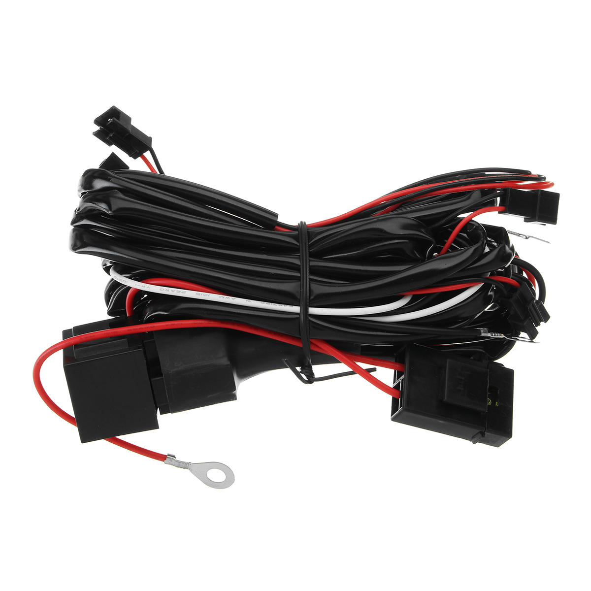 For BMW Halo Rings Lights CCFL Fade on/off Headlight Angel Eye Relay Halo Can Lights Wire Harness on