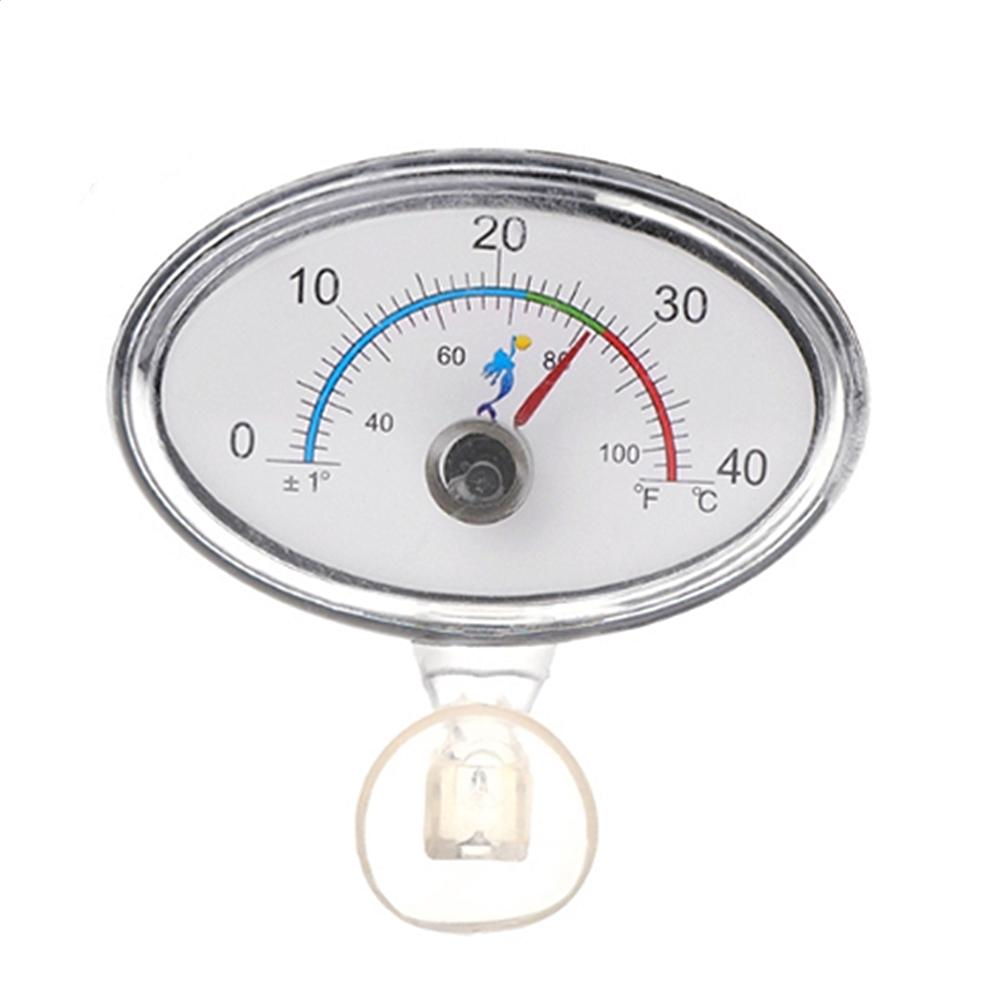 0-40 (°C) Elliptical Point'er Thermometer High-precision Aquarium Thermometer Real-time Display Easy-to-read Thermometer фото