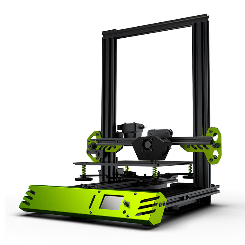 TEVO® Tarantula Pro 3D Printer Kit with 235x235x250mm Printing Size MKS GenL Mainboard 0.4mm Volcano Nozzle Support 1.75mm Filament