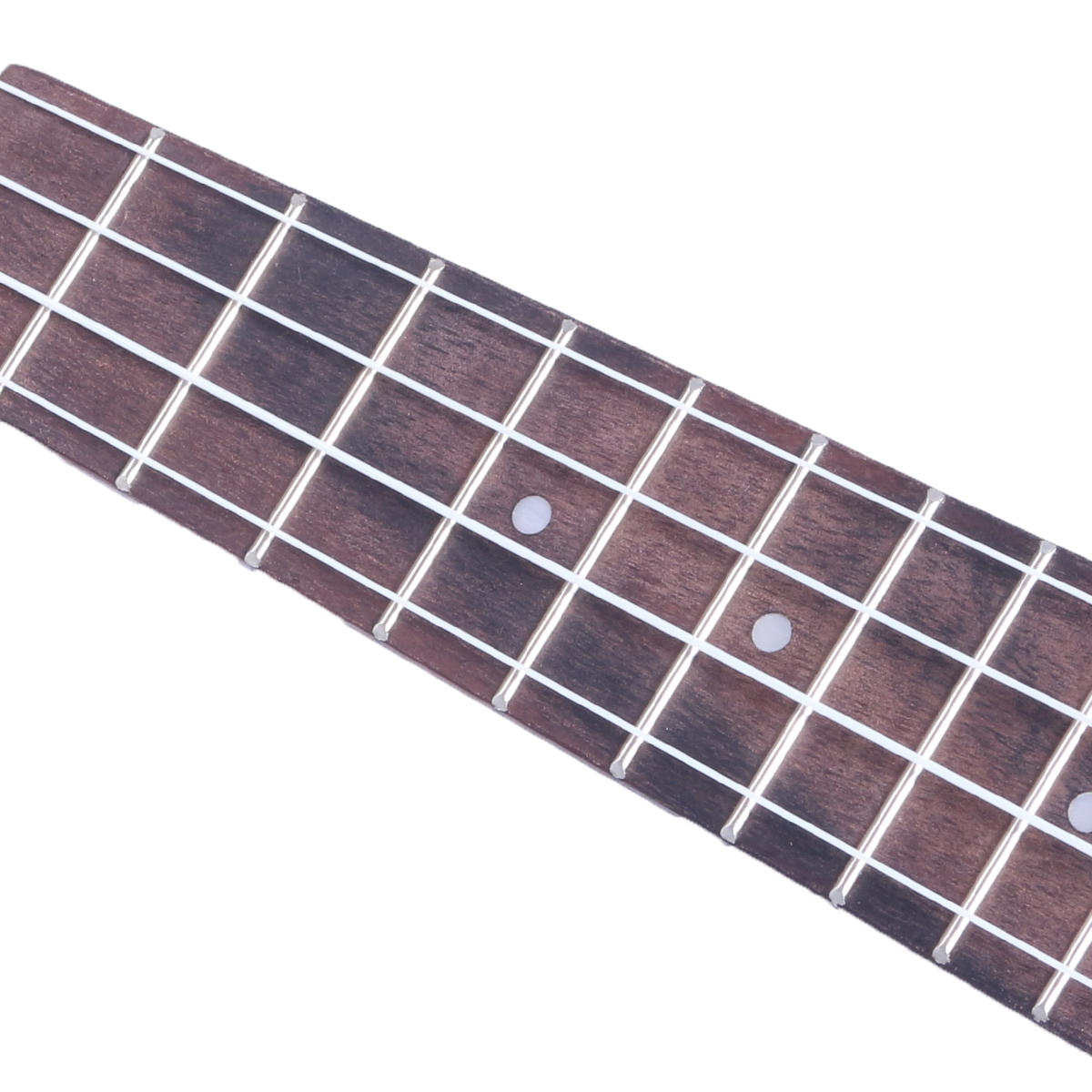 21 Inch 4 Strings 15 Frets Wood Color Mahogany Ukulele Musical Instrument With Guitar picks/Rope - 8