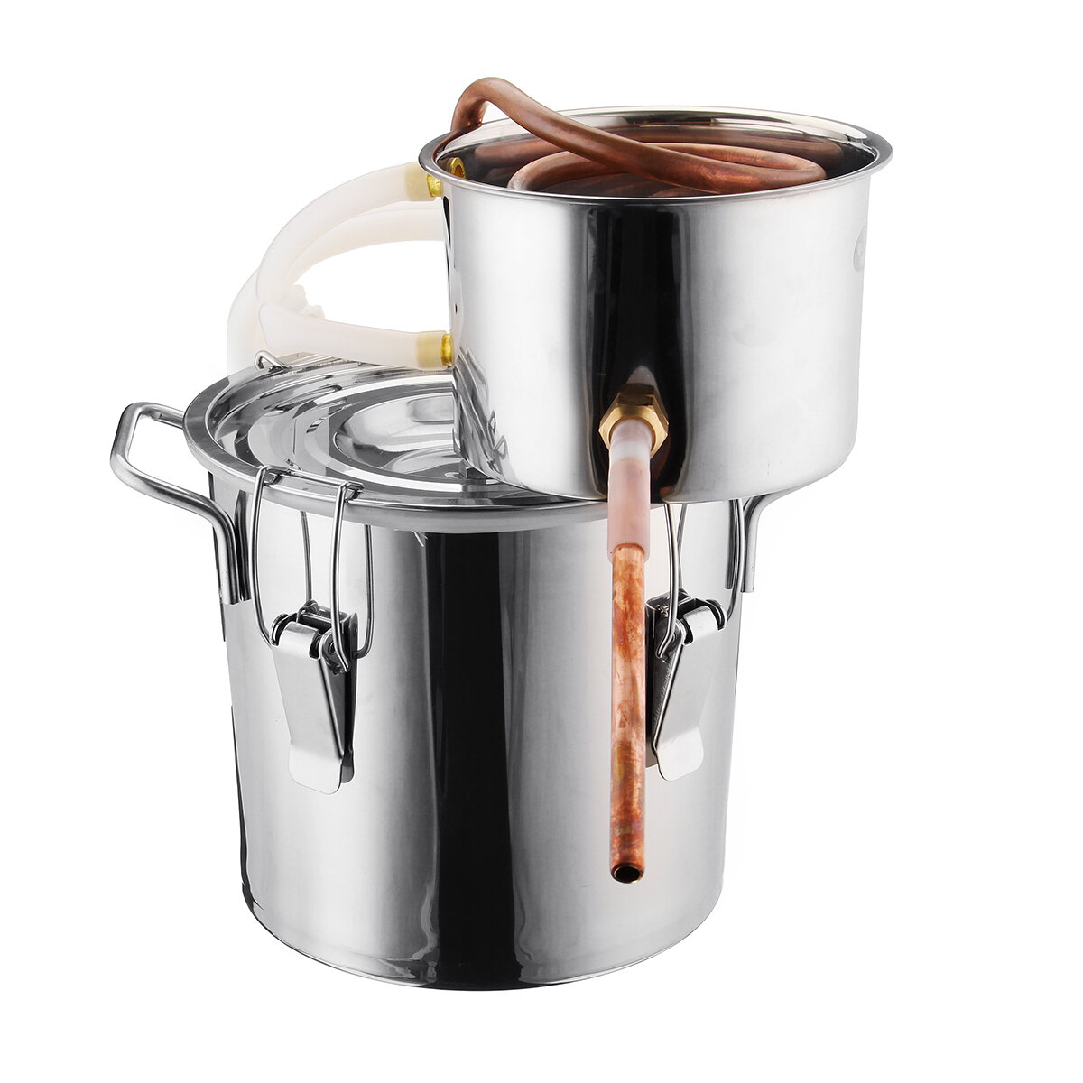 8L Alcohol Water Distiller Copper Wi-ne Making Tool Household Bar Sets Kitchen