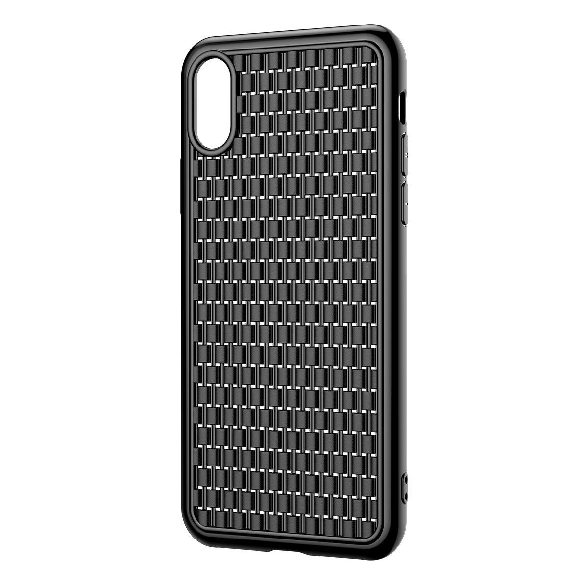 Baseus Custodia protettiva per iPhone XS Dissipazione di calore massima Soft Cover posteriore in TPU