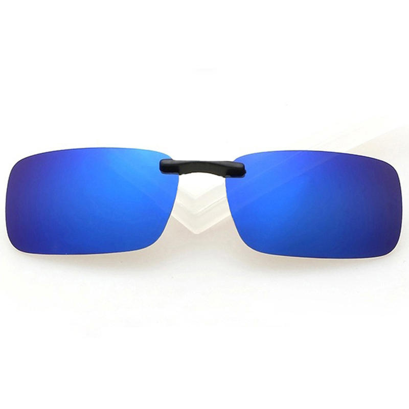 Men Summer Ultralight Polarized Glasses Clip фото