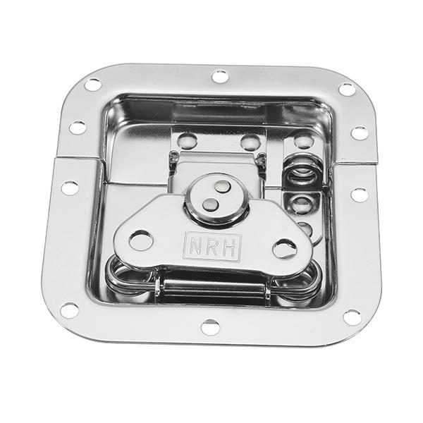 Twist Butterfly Draw Latch Rotary Turn Cold Rolled Silver Recessed фото
