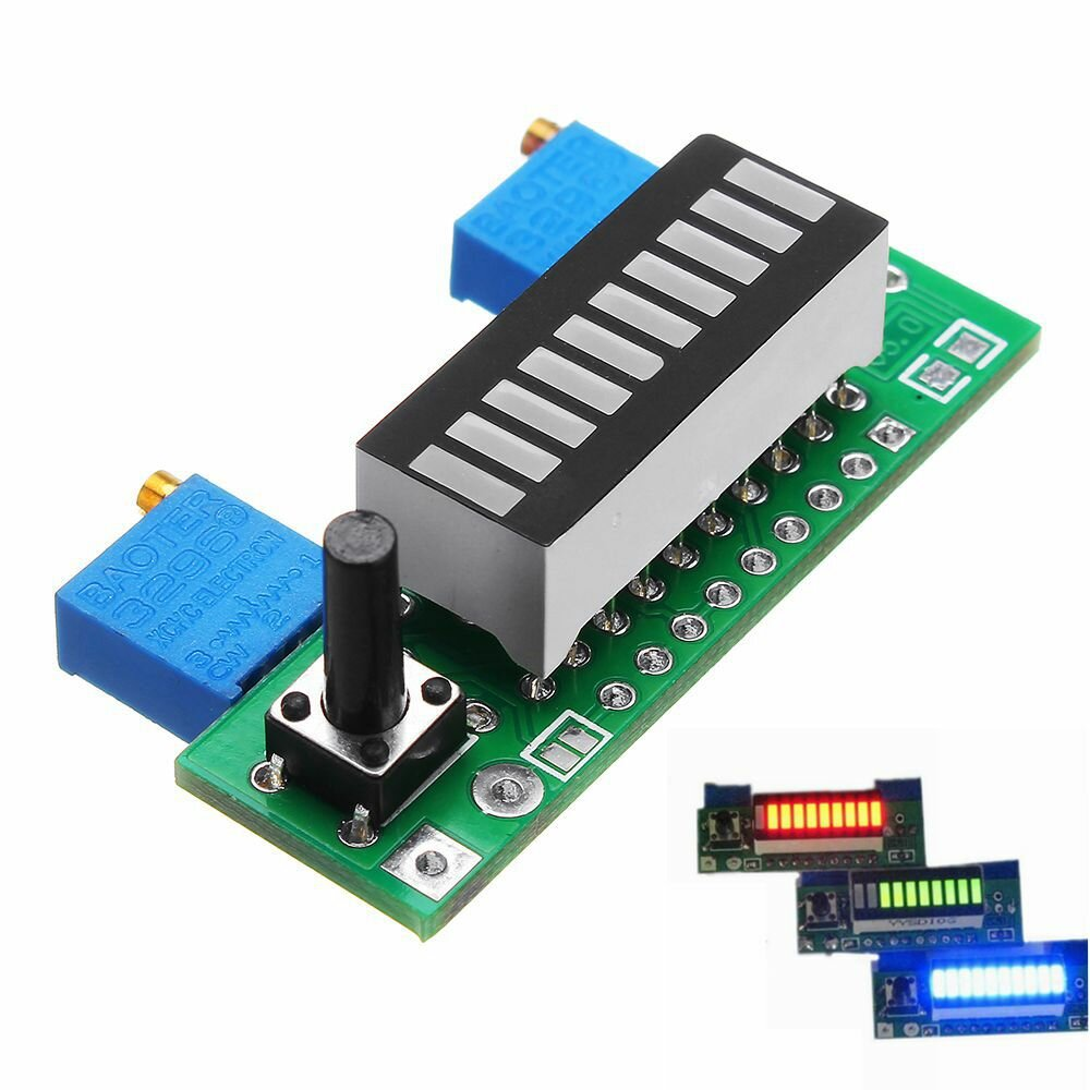 DRIVER: LM3914 LED DISPLAY