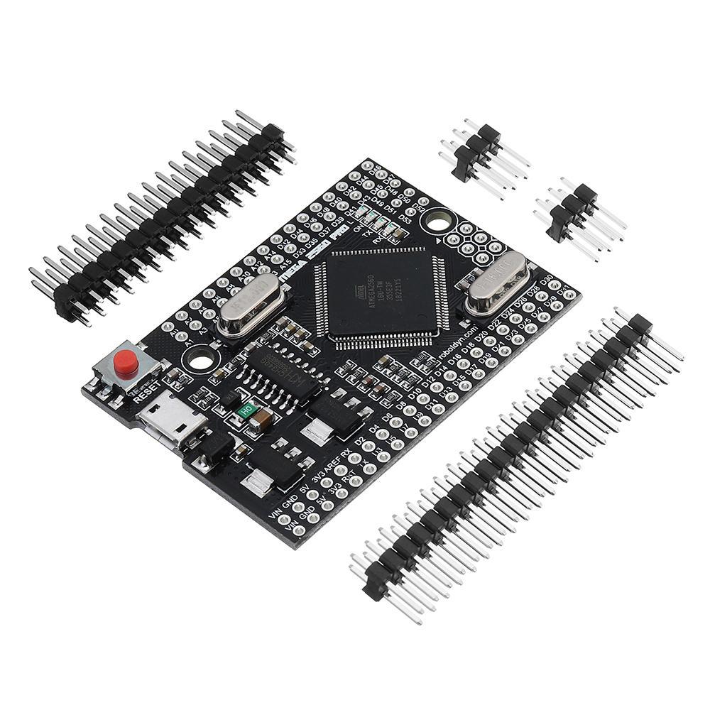 RobotDyn® Mega 2560 PRO (Nhúng) CH340G ATmega2560-16AU Bảng mô-đun phát triển với tiêu đề pin cho Arduino