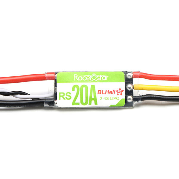 Racerstar RS20A 20A BLHELI_S OPTO 2-4S ESC Support Dshot150 Dshot300 for RC Racing Drone