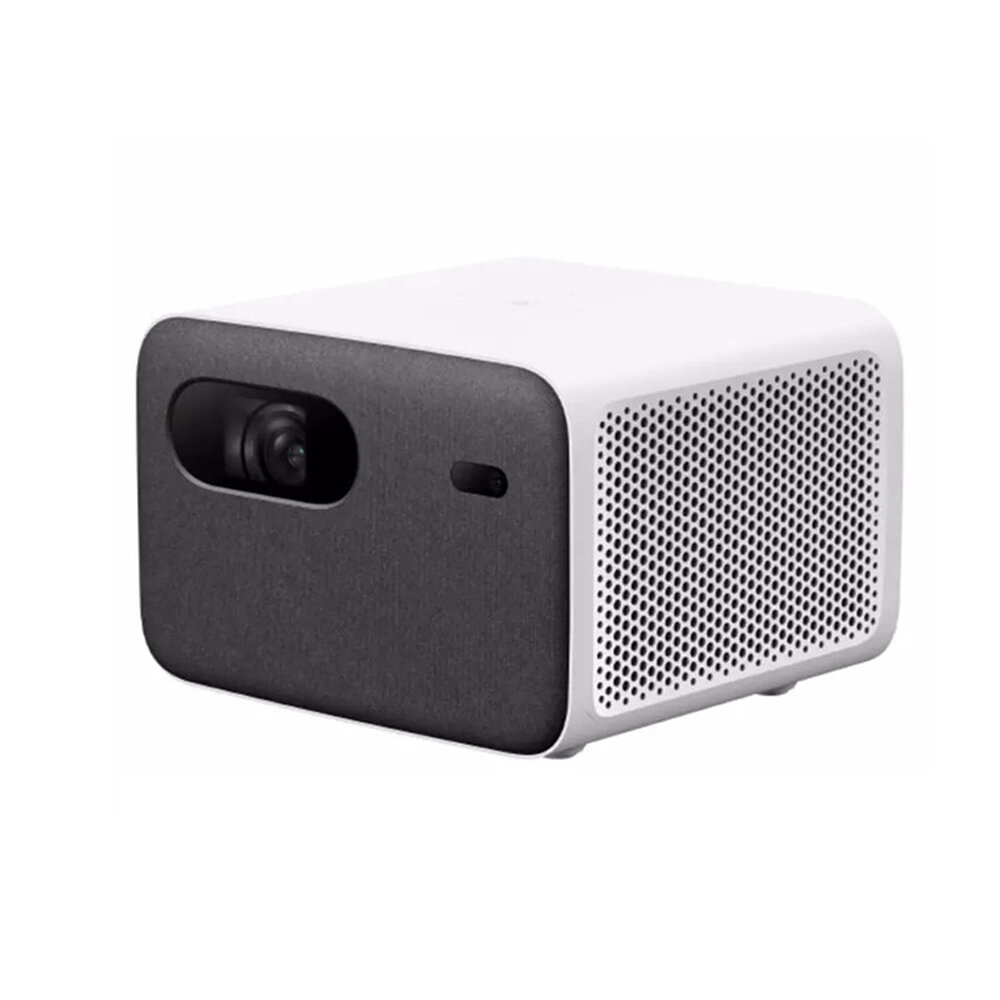 Xiaomi 2Pro WIFI LED Projector 200_inch 1300 ANSI 1080P Resolution Wireless Same Screen Side Projection Far_Field Voice Control Multiple Ports Portable Smart Home Theater Projector Chinese Version