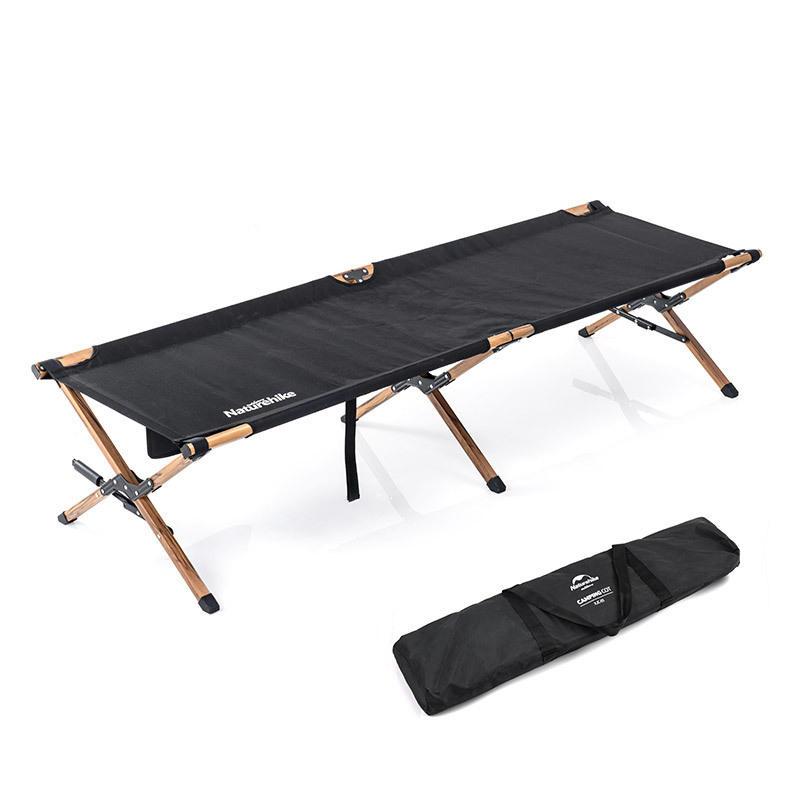 Naturehike NH19X003-C Lettino pieghevole per esterno Lettino singolo portatile Riposo Carico massimo per dormire 150 kg campeggio Corsa