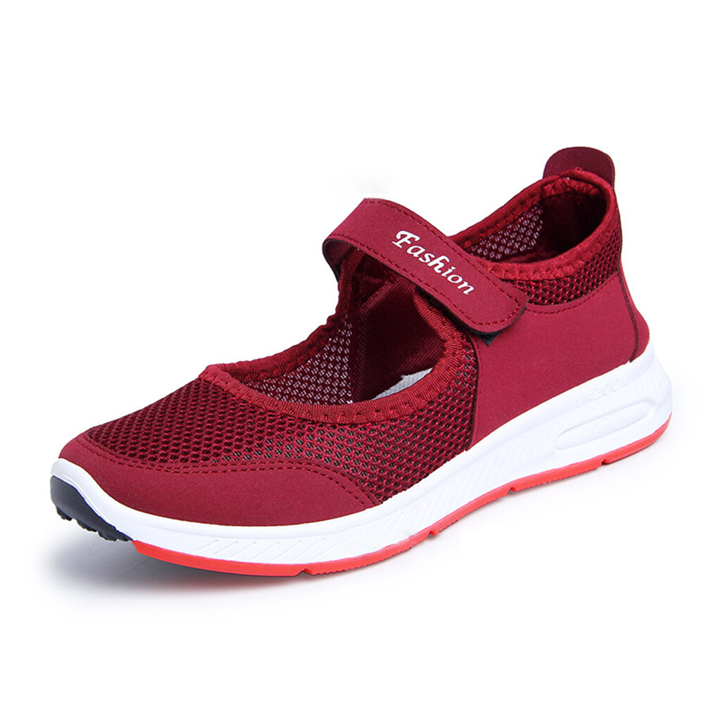 Printing Trainers Lace Up Comfortable Sport Casual Shoes For Women - 10