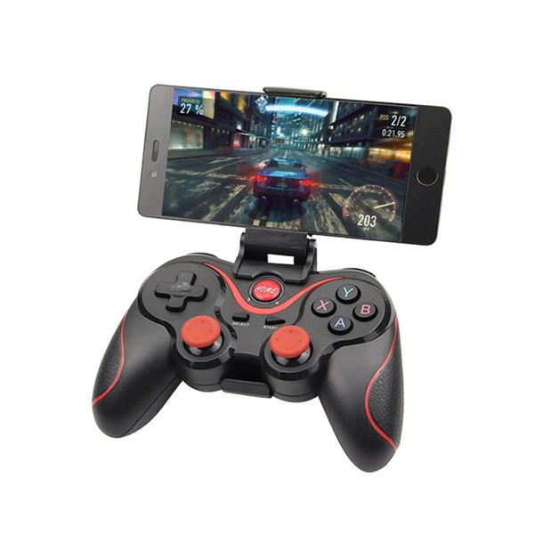 Bakeey Wireless Bluetooth 3.0 Tay cầm điều khiển trò chơi điều khiển trò chơi + Bộ giữ + Bộ thu cho Máy tính bảng