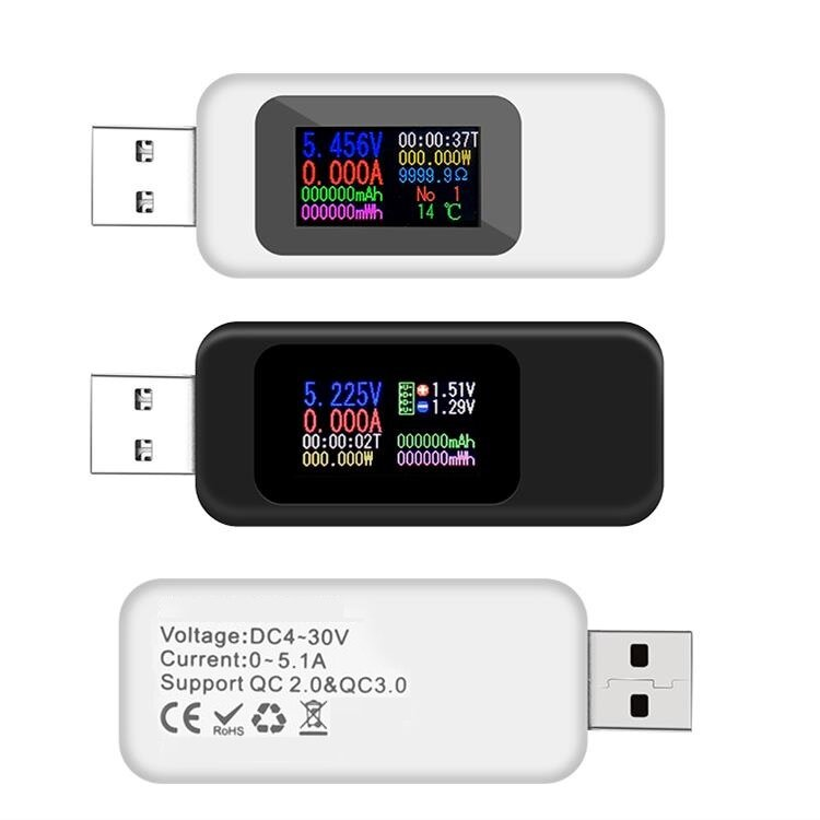 Tester USB DANIU Digital 10 in 1 za $3.99 / ~16zł